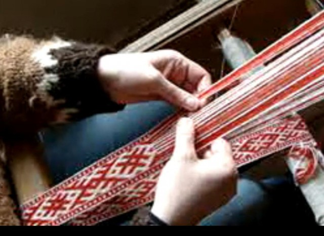 ткачество на бердо, ткачество на ниту