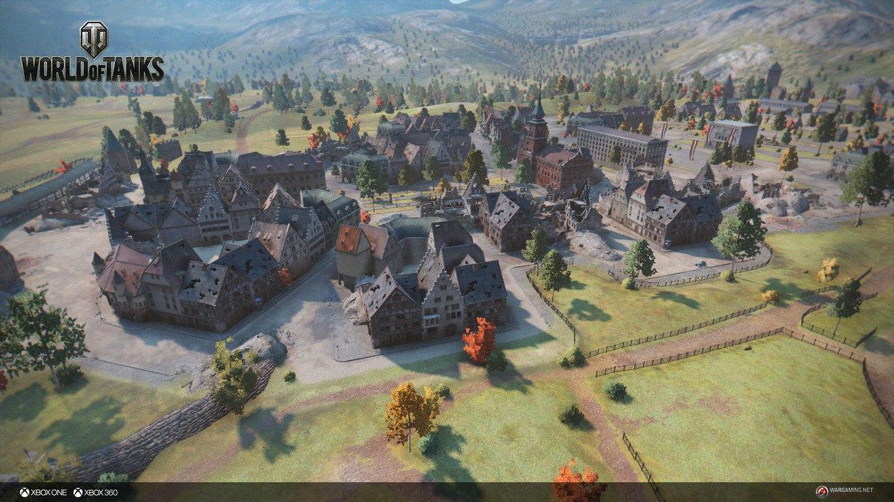 Microsoft Xbox One в World of Tanks