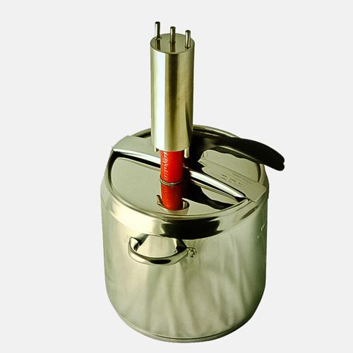 Самогонный аппарат Катюша. Конструкция аппарата позволяет произвести его трансформацию до полноценной ректификационной колонны, а при необходимости вернуть аппарат в исходное состояние (классический дистиллятор).