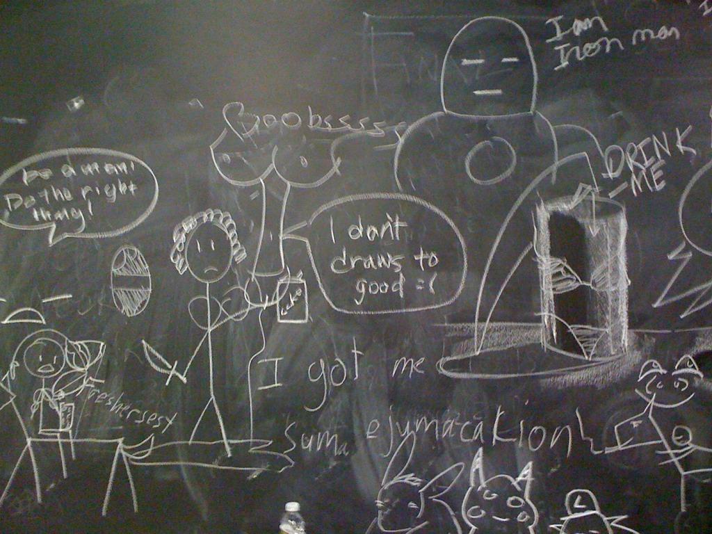 photo - life - school (chalkboard drawings) - THE ARTBLOG ...