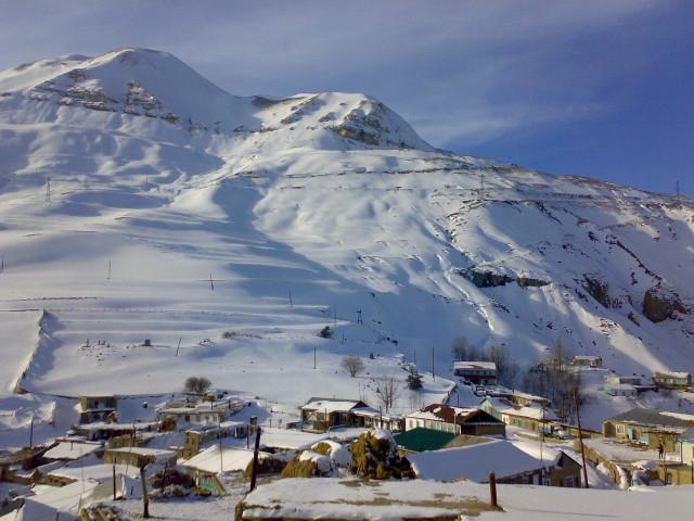 Зима в горах Дагестана - Дагестан Post