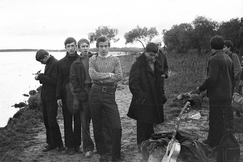 Вылазка на левый берег Амура всем классом в сентябре 1971 года. Продолжение 4.