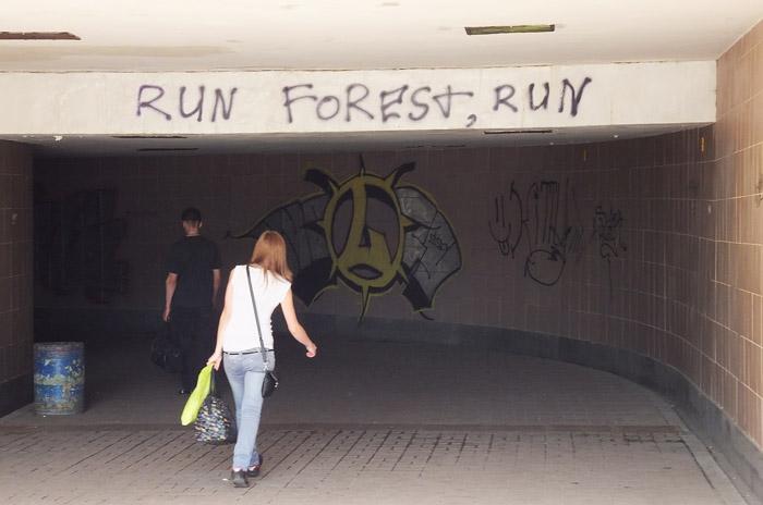 run, Foresr, run