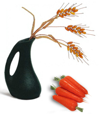 морковь и рожь