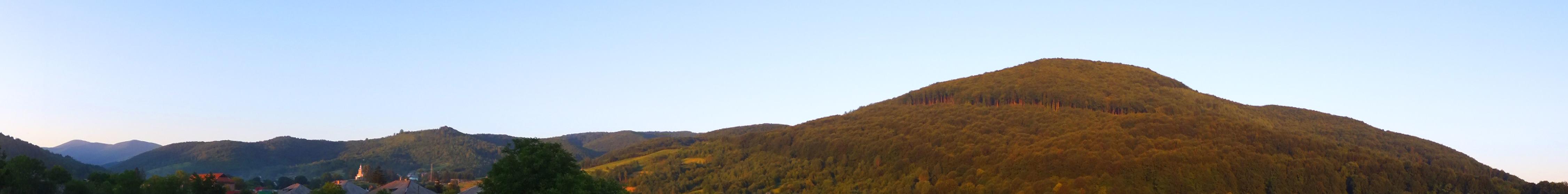 Карпаты, панорама