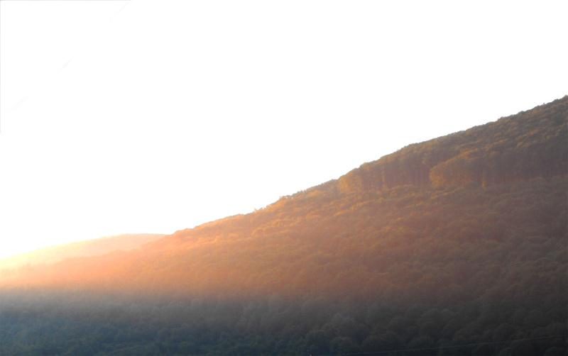 восход, Карпаты