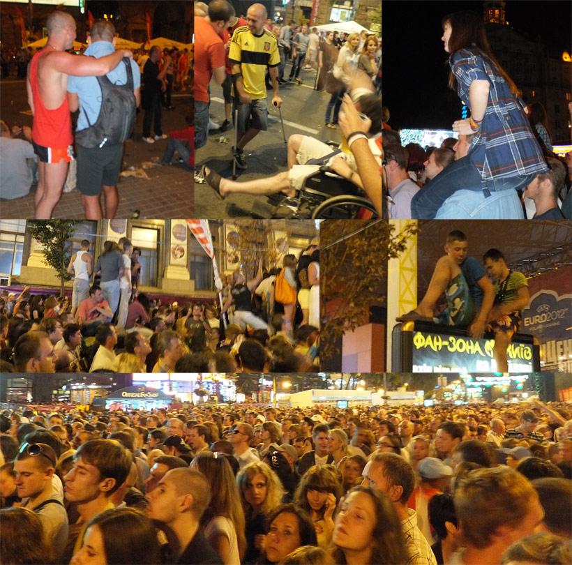 концерт в фан-зоне, Киев, 30 июня 2012