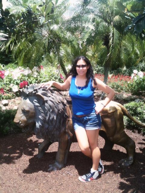 Me At Busch Gardens