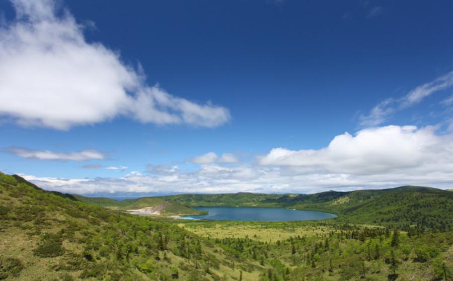 Озера Кипящее и Горячее.