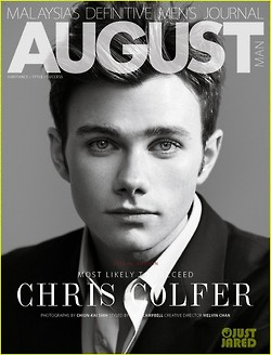 Chris Colfer for August Man Malaysia - Page 3 475394_original