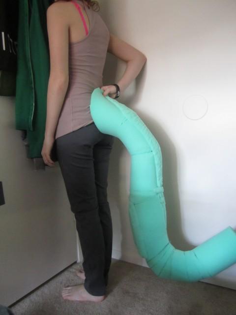 Large Tail Help Fursuit