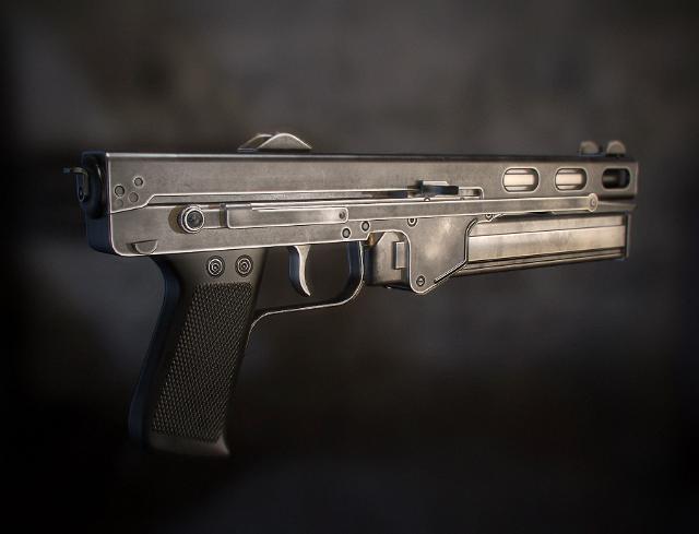 Пистолет-пулемет Стечкина ТКБ-486