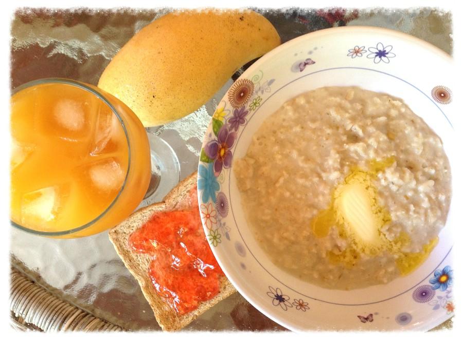 Картинки по запросу Овсяная каша с молоком и апельсиновым соком фото