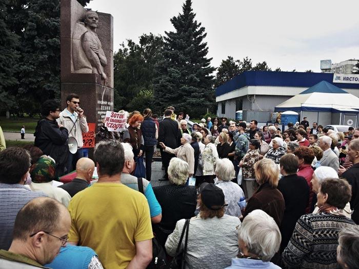 выступление жителя Кузьминок