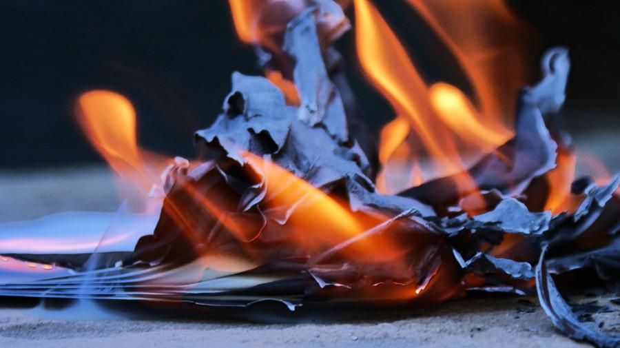 burning-paper