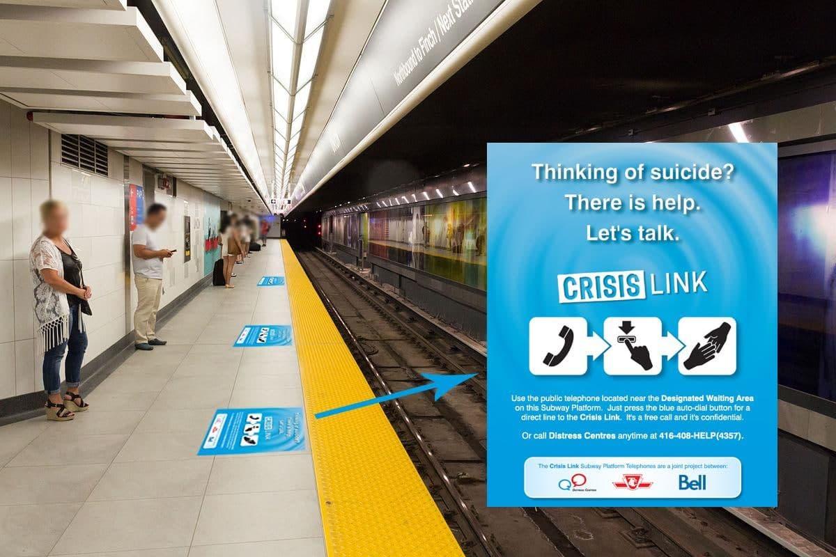 crisis link Toronto