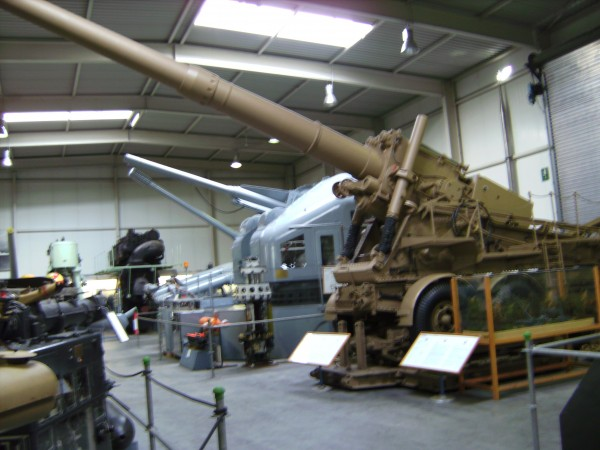 Пушка особой мощности 24cm K 3 (Германия)2