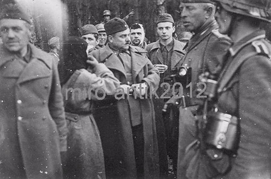 Пленные советские генералы на немецких фото.