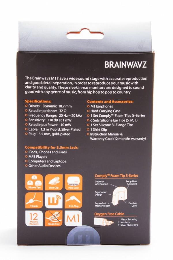 Amazon: Удивительные наушники Brainwavz M1
