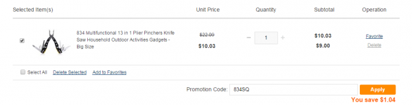 GearBest: Обзор недорогого китайского мультитула ценой менее 10 долларов