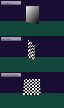 Procedural textures screenshot