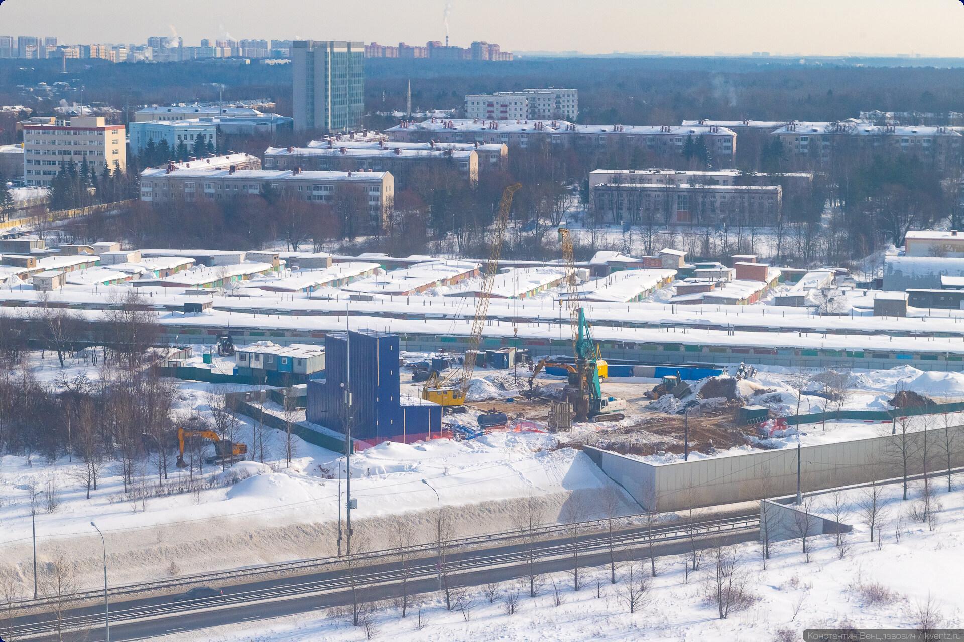 16. До станции «Внуково» остаётся примерно километр.
