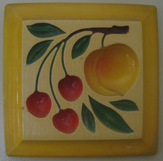 Fruit plaque