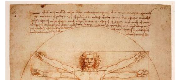 Зеркальное письмо Леонардо да Винчи