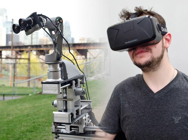 DORA Platform, использует Oculus Rift