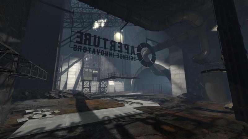Portal 2 макабрические техноуровни колоссальных размеров