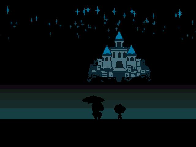 Undertale - игра с графикой Спектрума