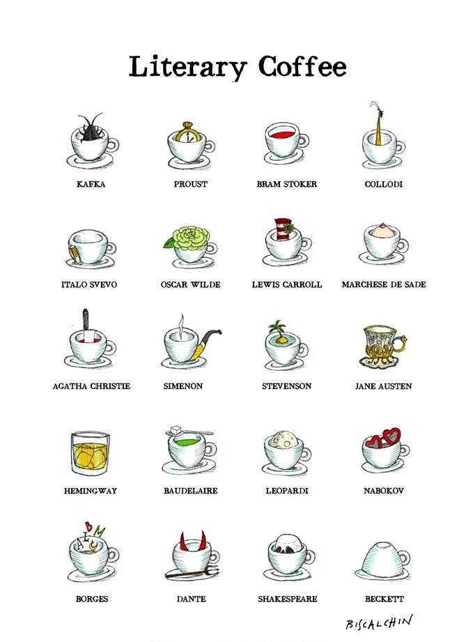 Литературный кофе