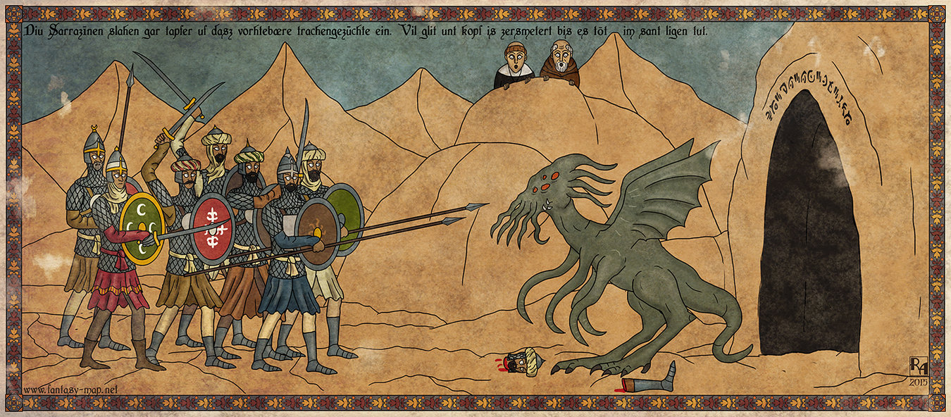 sapiento.deviantart.com Рыцари против Ктулху