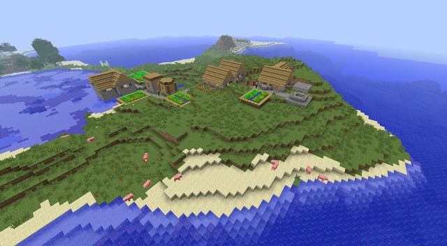 Minecraft - seed 644309466