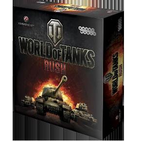 купил настольную карточную игру World of Tanks Rush