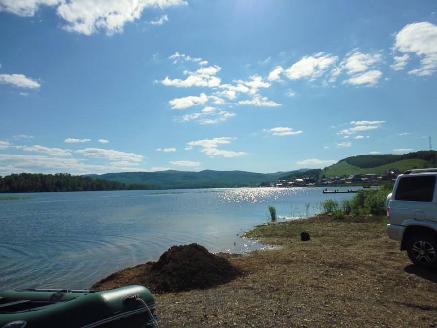 красноярский край озера отдых рыбалка