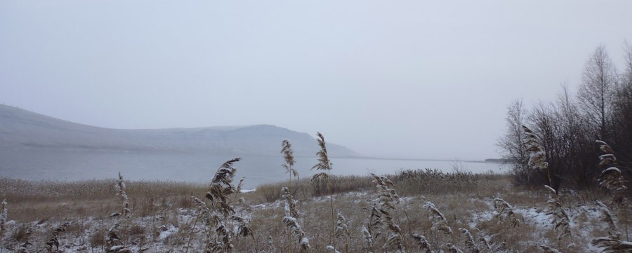 Озеро Учум в начале зимы P1030726