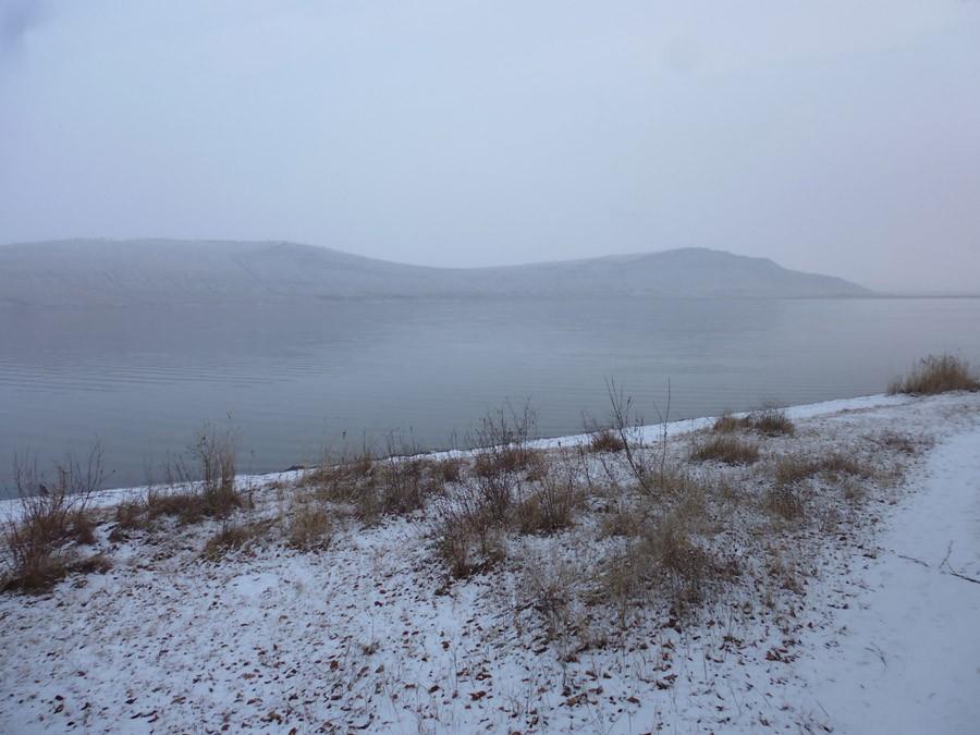 Озеро Учум в начале зимы P1030734