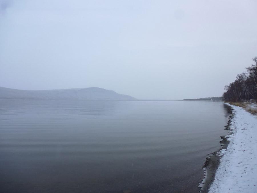 Озеро Учум в начале зимы P1030740