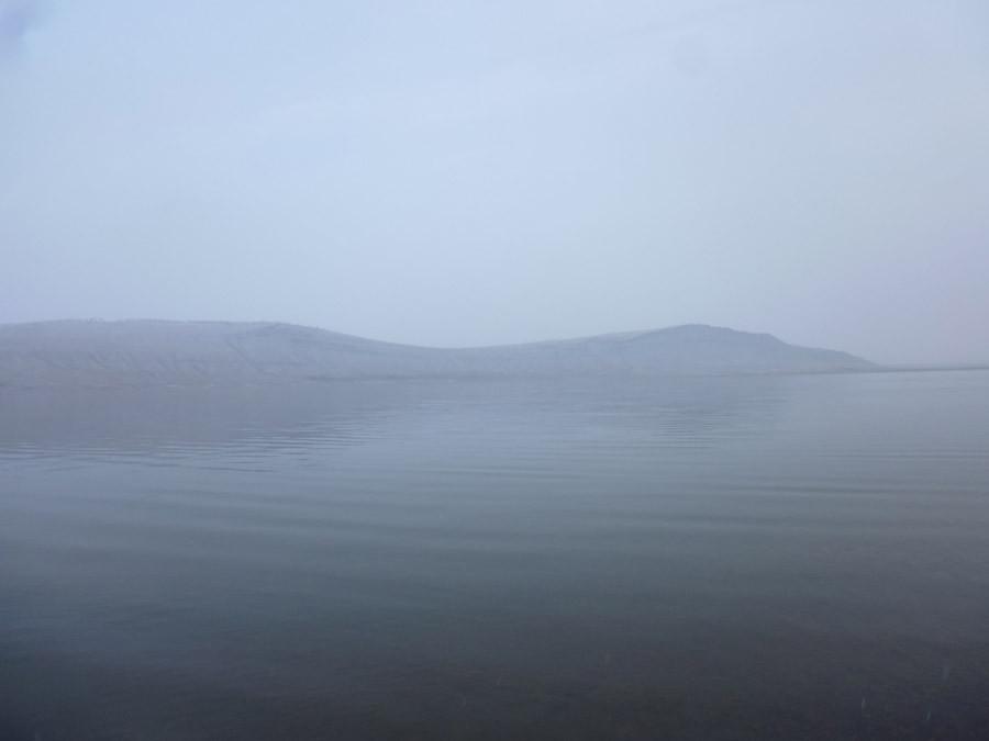 Озеро Учум в начале зимы P1030741