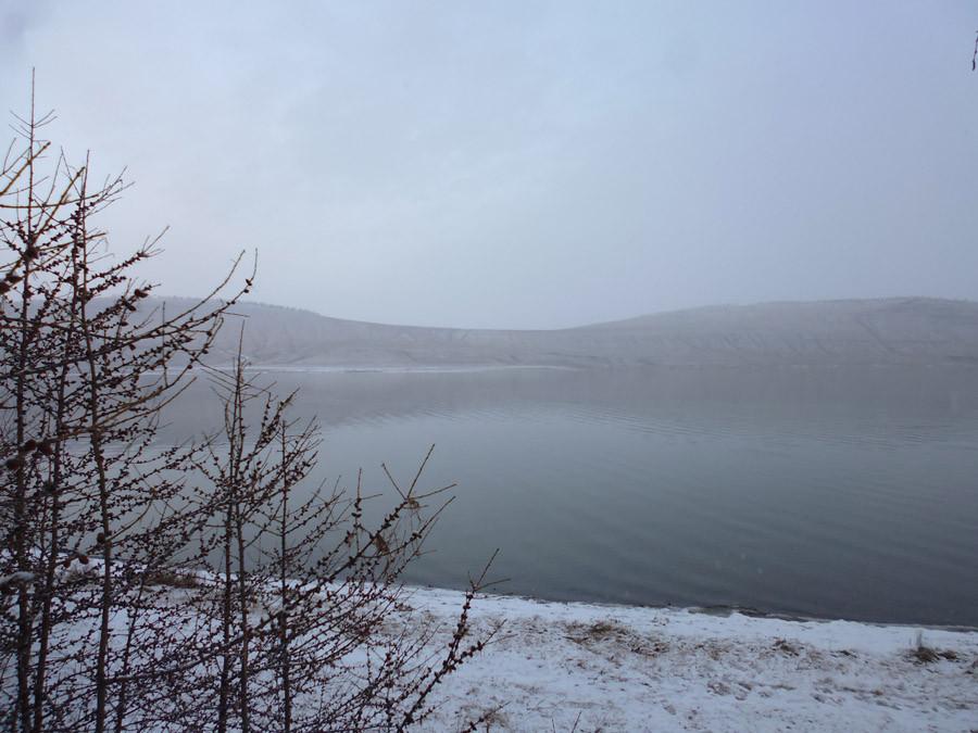 Озеро Учум в начале зимы P1030750