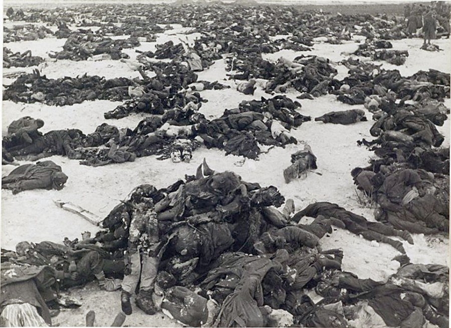 убиты немцами люди