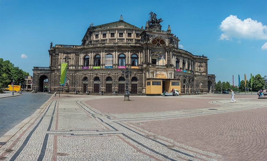 04. Опера Земпера — оперный театр в Дрездене