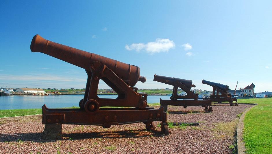 06 батарея орудий