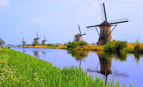 Фоторепортаж: Нидерланды - королевство мельниц, каналов и тюльпанов