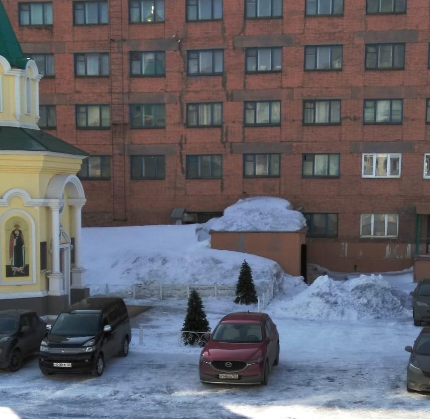 Норильск, зима