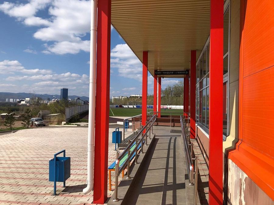 Спортивный комплекс КрасГМУ ждёт гостей 05