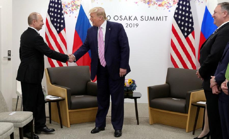 Путин и Трам