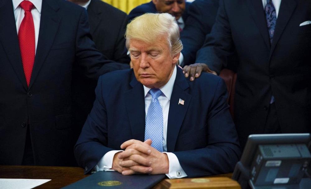 Грустный Трамп