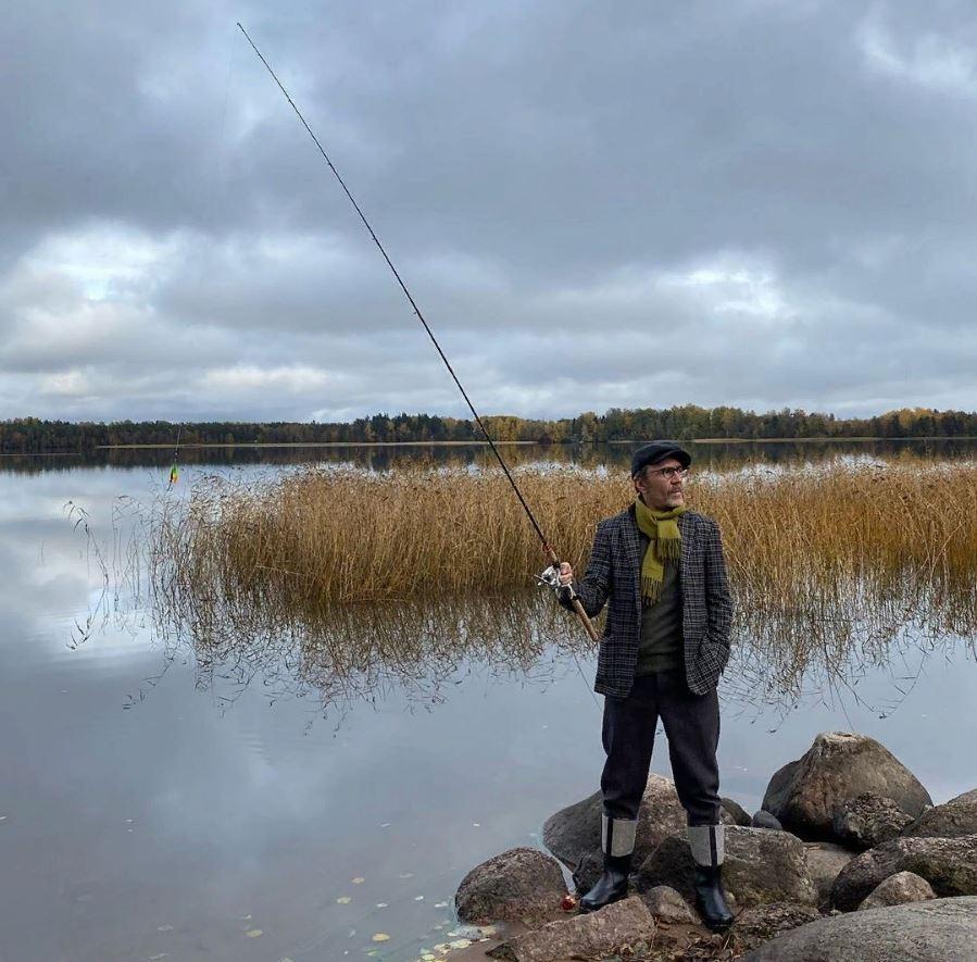 Шнуров на рыбалке